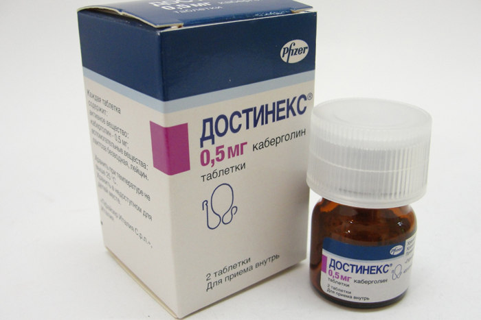 Достинекс (Dostinex)