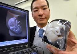 Японки на память о беременности могут заказать «скульптуру» своего живота и плода