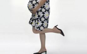 Носить ли обувь на каблуке во время беременности?