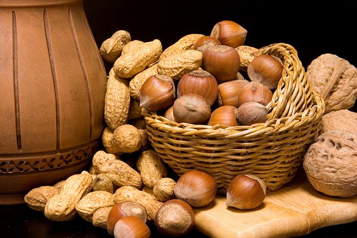 Орехи не стимулируют внутриутробное развитие аллергии