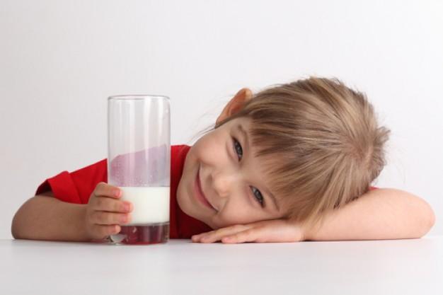 Молочные продукты в рационе ребенка