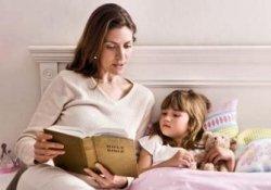 Чтение перед сном и вслух развивает умственные способности детей