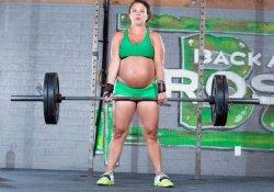 Из спортзала в родзал, или штанга для беременной