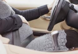 Беременная за рулем – источник опасности