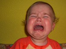 Дети тревожных матерей плачут дольше остальных