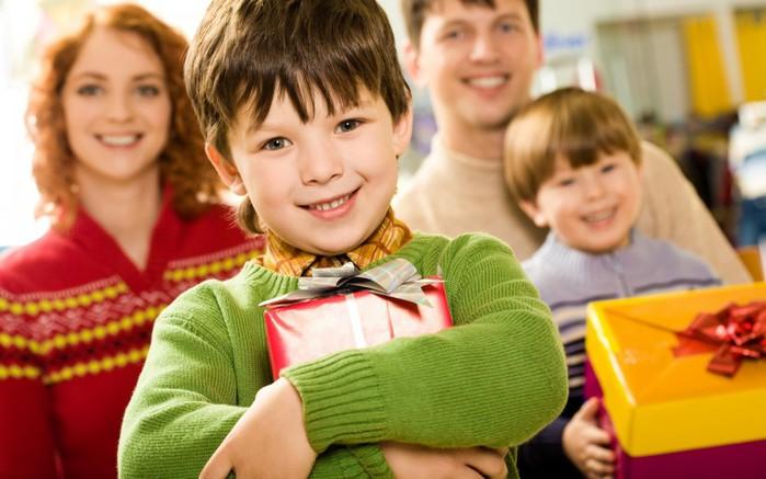 Ученые рекомендуют делать правильные подарки для детей