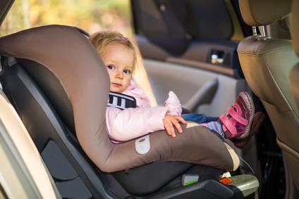 В такси с ребенком