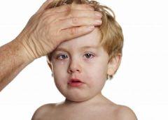 Малыш заболел: меры первой помощи
