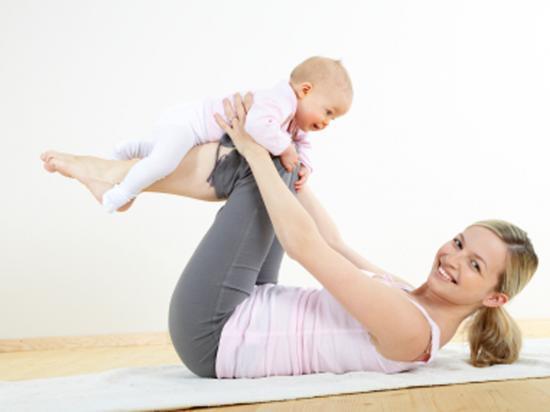 Фитнес после родов: как вернуть былую форму