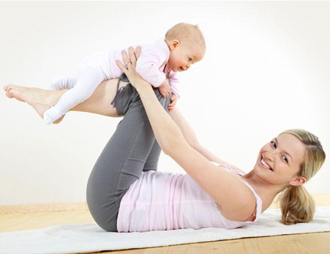 Восстановление фигуры после родов: советы