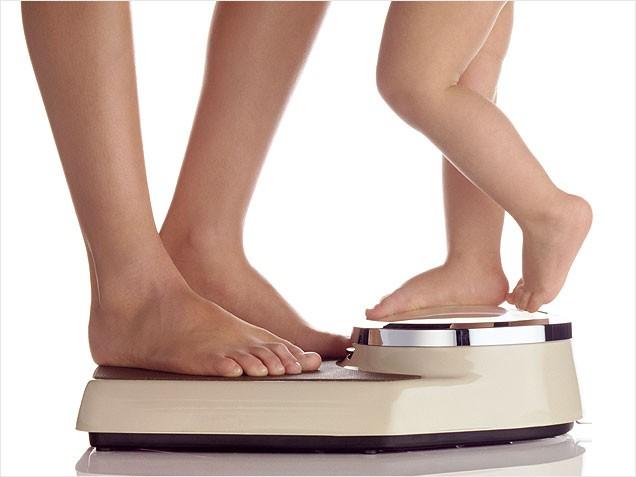 Как убрать лишний вес после родов