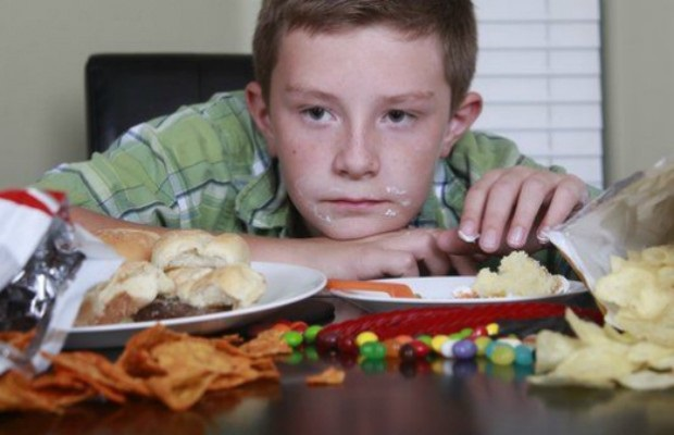 В России от ожирения страдает 20% детей