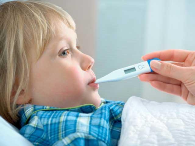 Снижение температуры тела у детей