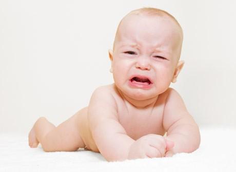 Длительный плач вредит детскому мозгу