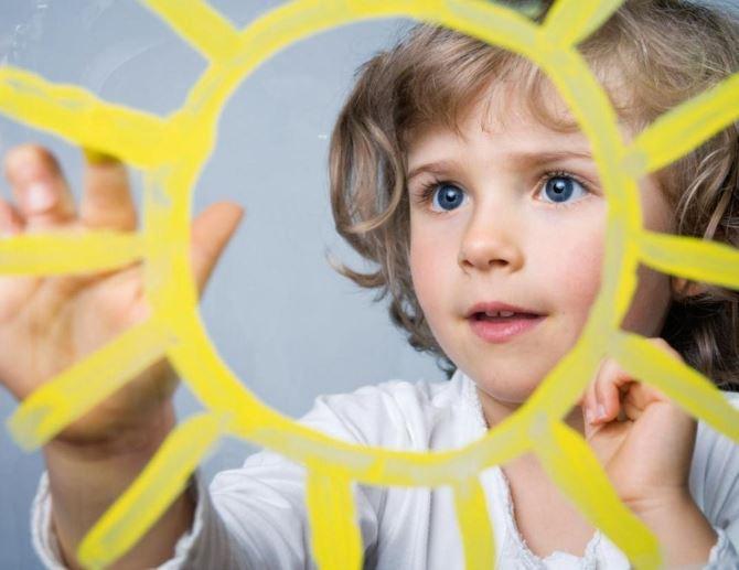 Солнце защищает детей от аллергии