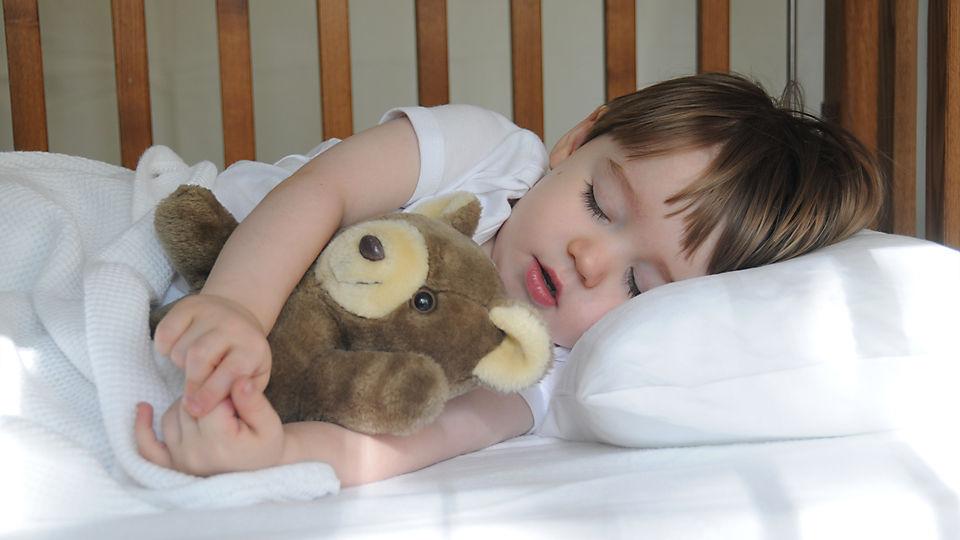 Развитие ребенка зависит от правильного сна