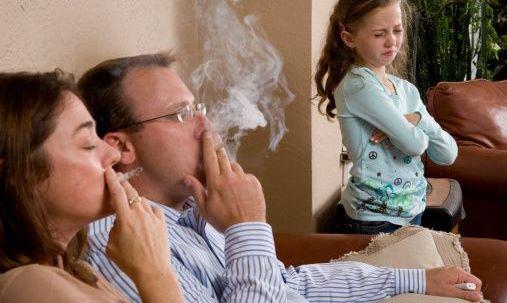 Доказано, что дети курильщиков чаще болеют астмой
