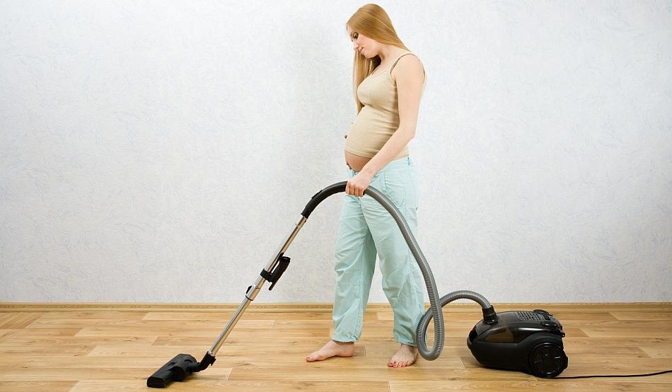 Беременным женщинам нельзя заниматься уборкой