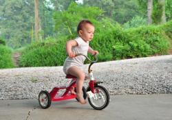 Детские трехколесные велосипеды – источник повышенной опасности