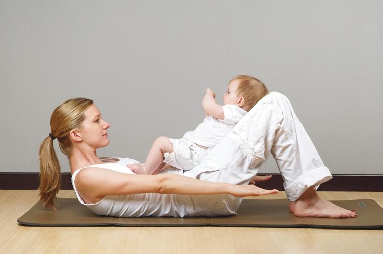 Упражнения после родов для улучшения формы груди