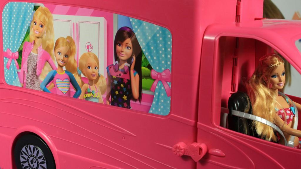 Гламурный домик на колесах для куклы Барби