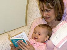 Общение в процессе чтения развивает речь детей
