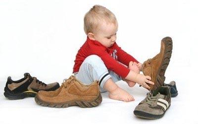 Критерии подбора обуви для ребенка