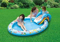 Детские надувные бассейны потенциально опасны для малышей