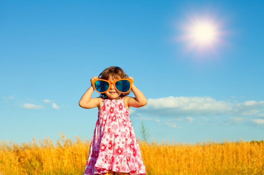 Хрусталик в глазу у ребенка уязвим к воздействию солнца