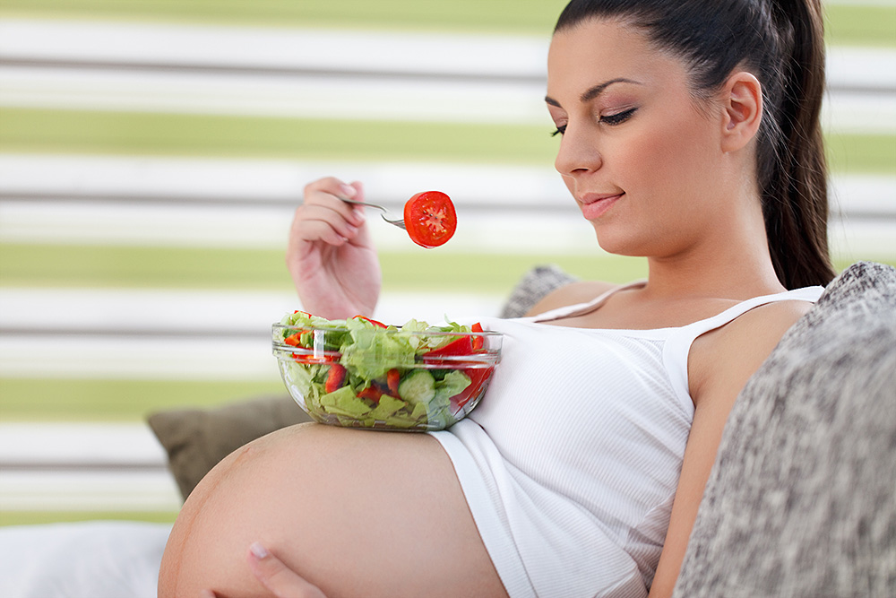 Не переедайте в беременность