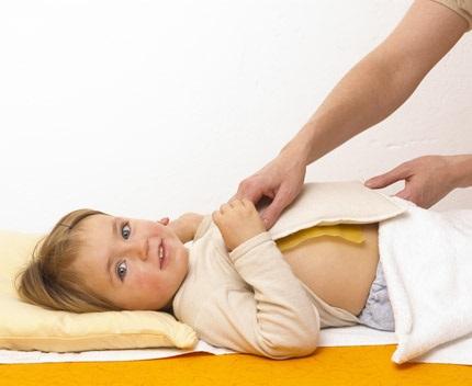 Влажные обертывания помогут вылечить экзему у детей
