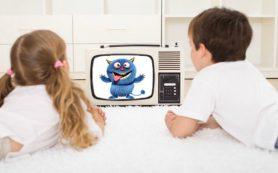 Телевизор снижает креативные способности детей