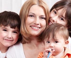 Чем больше у женщины детей, тем дольше она проживет