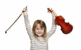 Уроки игры на скрипке полезны для детей