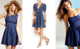 Джинсовые платья – за и против