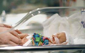 В России выживает 85% недоношенных детей весом до 1 кг