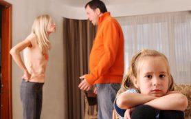 Ссоры родителей могут вызвать нарушения в развитии ребенка