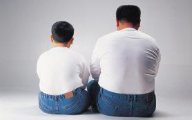 Ожирение отца подвергает риску здоровье ребенка
