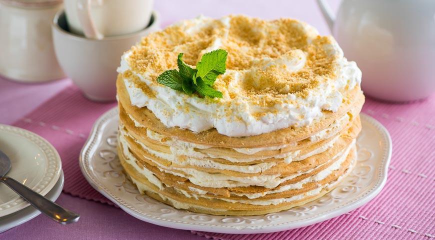 Торт. Известный всем «Наполеон»