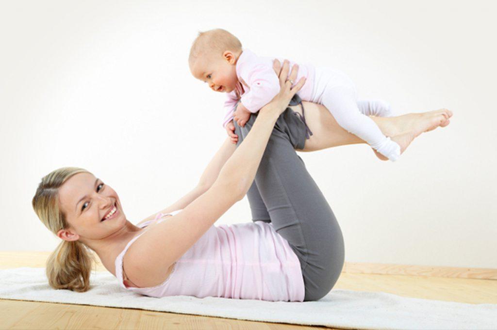 4 способа похудеть после родов