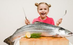 Ранее потребление рыбы детьми снижает риск развитие астмы