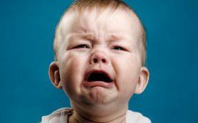 Детский плач развивает у взрослых хорошую реакцию