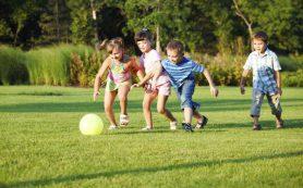 Активные игры способствуют нормальному развитию ребенка