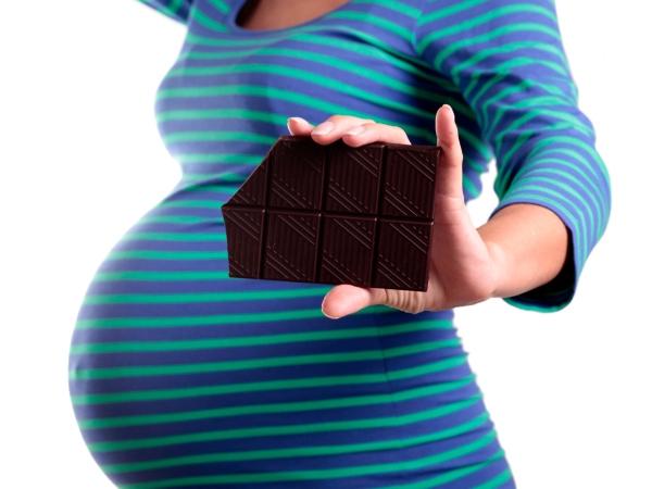 Шоколад: лучшая еда для беременных