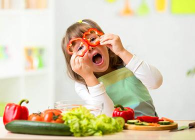 Вегетарианская диета неприемлема для детей