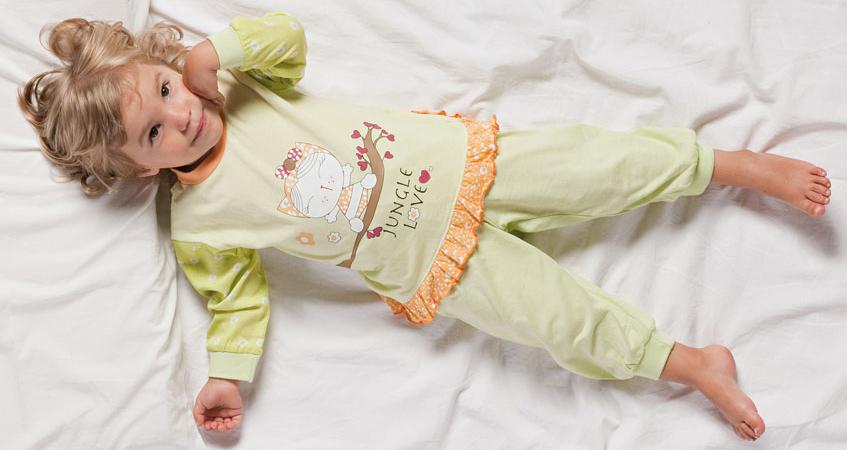 Какая ткань подойдет для детской пижамы?