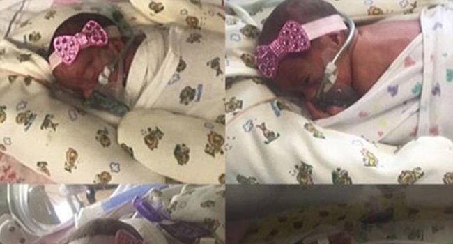 Женщина родила зачатых естественным путем четверняшек (фото)