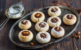 Мятное шоколадное печенье