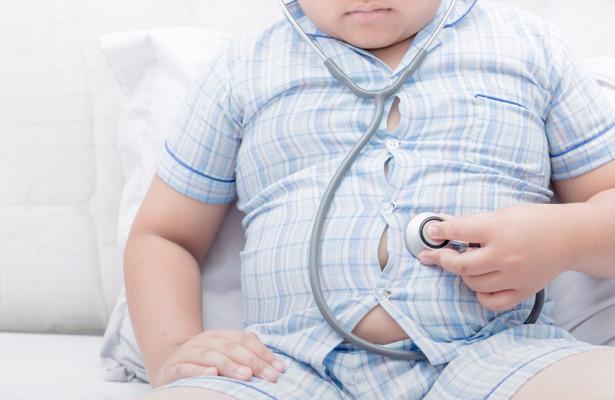 Число детей с ожирением выросло в 10 раз за 40 лет