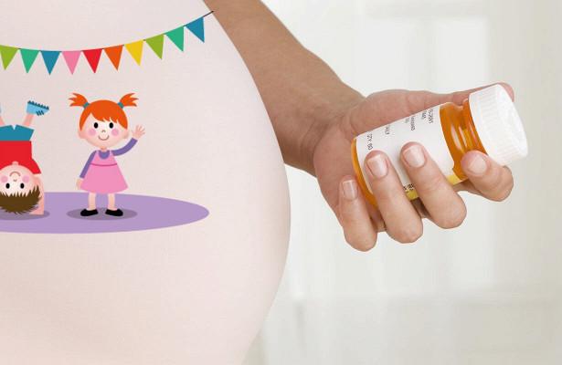 Добавки фолиевой кислоты во время беременности могут снизить риск аутизма